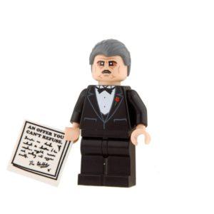 Product shot Custom Design Mini Figure - The Blockfather