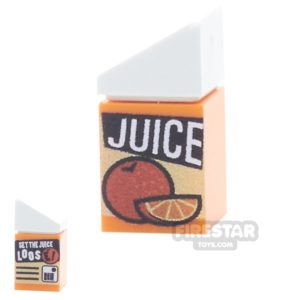 Product shot Custom Design - Orange Juice