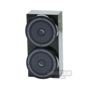 Product shot Custom Design Speaker 2x4