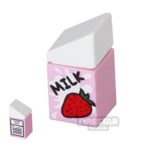 Product shot Custom Design - Strawberry Milk