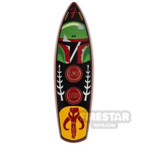 Product shot Custom Design Surfboard Boba