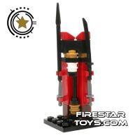 Product shot Custom Mini Set - Ninjago Weapons Stand