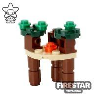 Product shot Custom Mini Set - Star Wars - Ewok Village