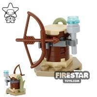 Product shot Custom Mini Set - Star Wars - Ewok Weapon Rack