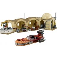 Product shot Custom Mini Set - Star Wars - Mos Eisley Cantina and Landspeeder