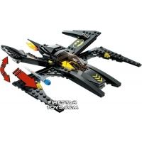 Product shot Custom Mini Set - Super Heroes - BATWING Jet Plane