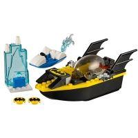 Product shot Custom Mini Set - Super Heroes - Batboat and Mr Freeze's Ice Speeder