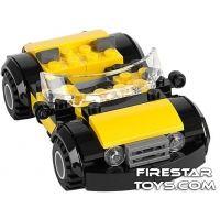 Product shot Custom Mini Set - Super Heroes - Cool Yellow Car