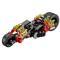 Product shot Custom Mini Set - Super Heroes - Ghost Rider Flaming Motorcycle