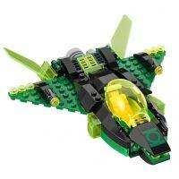 Product shot Custom Mini Set - Super Heroes - Green Lantern Spaceship