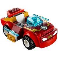 Product shot Custom Mini Set - Super Heroes - Iron Man Sports Car