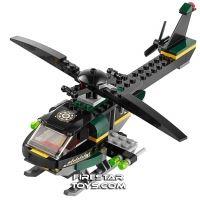 Product shot Custom Mini Set - Super Heroes - Mandarin's Helicopter