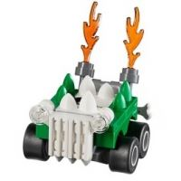 Product shot Custom Mini Set - Super Heroes - Micro Doomsday Car