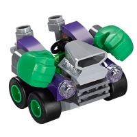 Product shot Custom Mini Set - Super Heroes - Micro Hulk Car