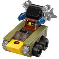 Product shot Custom Mini Set - Super Heroes - Micro Red Skull Car