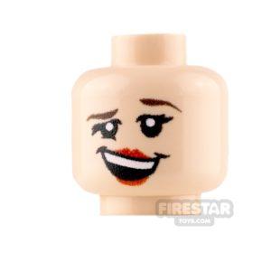 Product shot Custom Minifigure Heads - Merry Female - Light Flesh