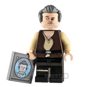 Product shot Custom Minifigure SW Scarred Doctor