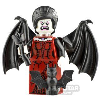 Product shot Custom Minifigure Vampiress Bat