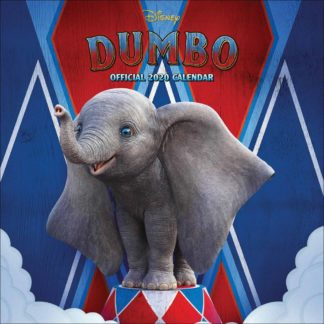 Product shot Disney Dumbo Official 2020 Square Calendar