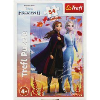 Product shot Disney Frozen 2 Anna And Elsa Mini 54 Piece Puzzle
