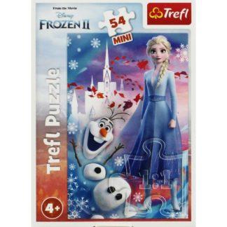 Product shot Disney Frozen 2 Elsa And Olaf Mini 54 Piece Puzzle