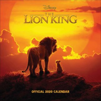Product shot Disney The Lion King Official 2020 Calendar