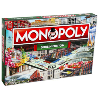 Product shot Dublin Monopoly Board Game
