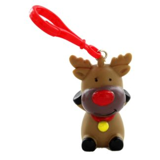 Product shot Festive Squeezy Pooper Keyring - Assorted