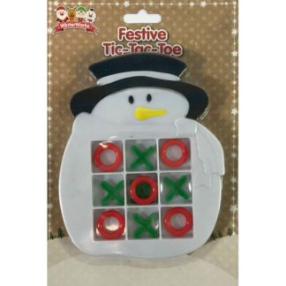 Product shot Festive Tic-Tac-Toe - Assorted