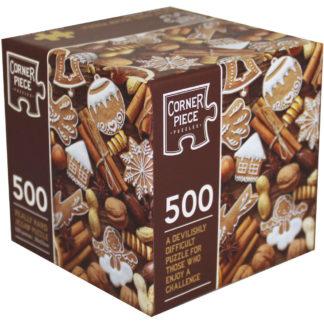 Product shot Festive Treats 500 Piece Really Hard Jigsaw Puzzle