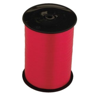 Product shot Fire Red Balloon Curling Ribbon - 500M X 5Mm