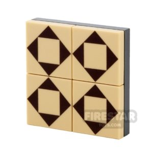 Product shot Floor Tile Pack - Triangle Pattern Set
