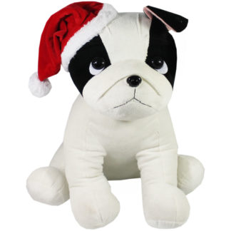 Product shot Giant French Bulldog Soft Toy With Hat