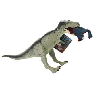 Product shot Grey Tyrannosaurus Rex Dinosaur Figurine