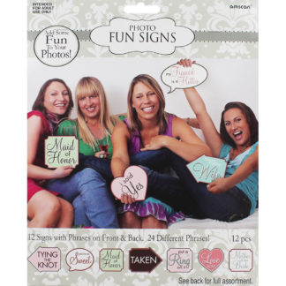 Product shot Hen Party Photo Props - Pack Of 24