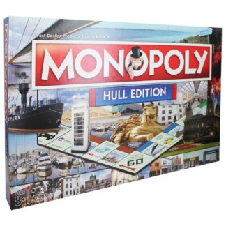 Product shot Hull Monopoly Board Game