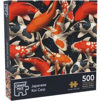 Product shot Japanese Koi Carp 500 Piece Jigsaw Puzzle