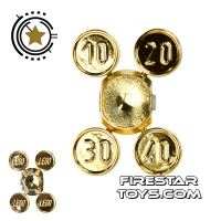 Product shot LEGO - 4 Gold Coins