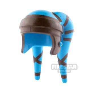 Product shot LEGO - Aayla Secura Headdress - Dark Azure