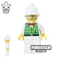 Product shot LEGO Adventurers Mini Figure - Dr Kilroy