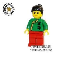 Product shot LEGO Adventurers Minifigure Jing Lee