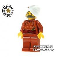 Product shot LEGO Adventurers Mini Figure - Maharaja Lallu