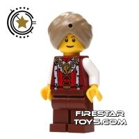 Product shot LEGO Adventurers Mini Figure - Snake Charmer