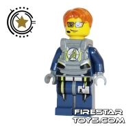 Product shot LEGO Agent Mini Figure -  Agent Fuse Body Armor