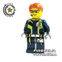 Product shot LEGO Agent Mini Figure -  Agent Fuse