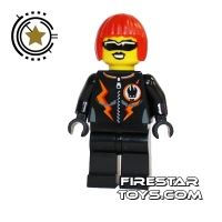 Product shot LEGO Agent Mini Figure - Dyna-Mite