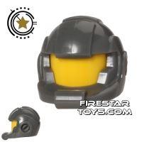 Product shot LEGO - Alien Avenger Space Helmet - Dark Blueish Gray
