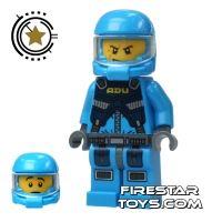 Product shot LEGO Alien Conquest Mini Figure - Alien Defense Unit Soldier 2