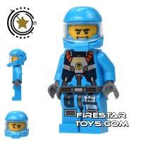Product shot LEGO Alien Conquest Mini Figure - Alien Defense Unit Soldier 4