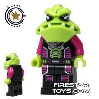 Product shot LEGO Alien Conquest Mini Figure - Alien Invader Trooper